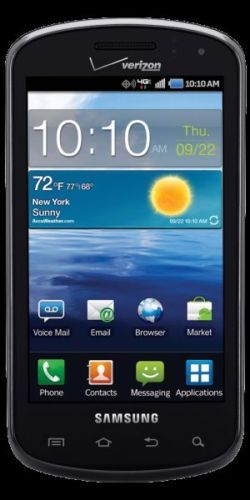 Samsung Galaxy s Stratosphere SCH i405 4GB Noble Black Verizon Smartphone 635753493382 | eBay