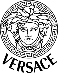 Vetores Luxury Brand Logo Fashion Logo Branding Versace Logo