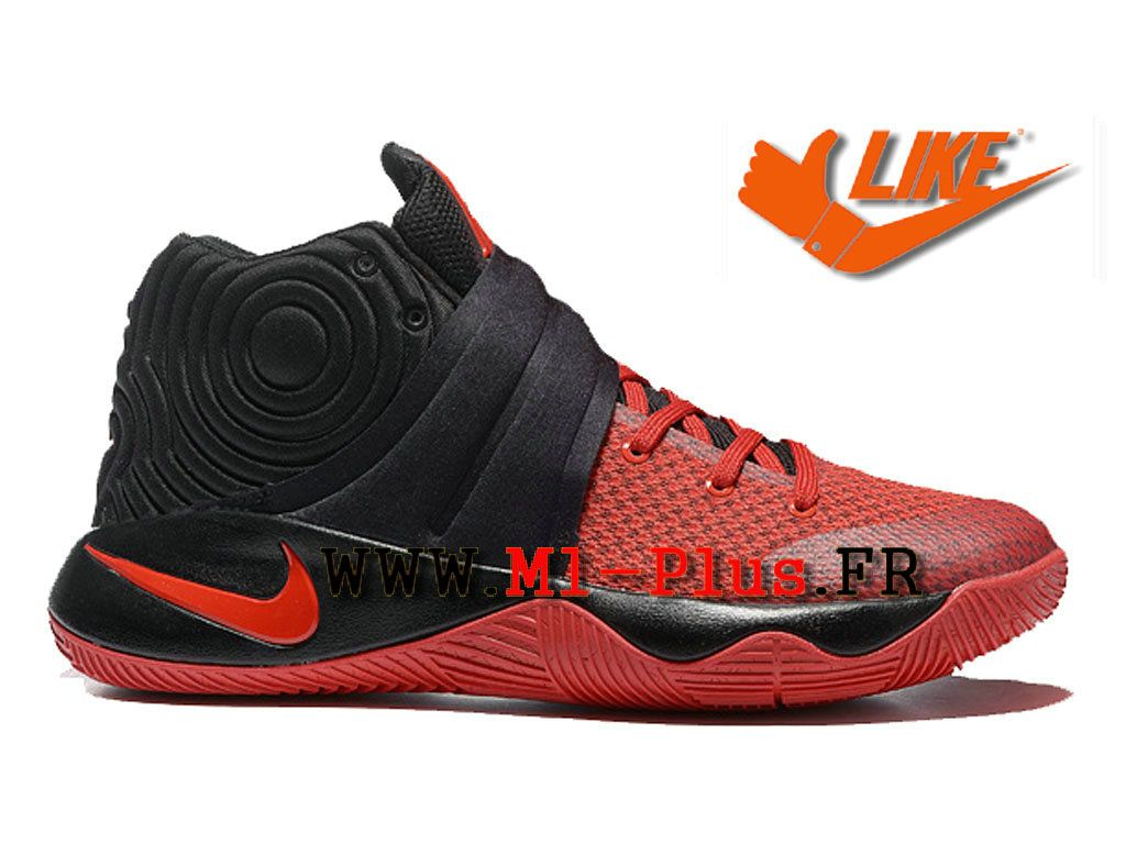 brand new 698f1 91ff4 Nike Kyrie 2 ID Men Nike Basketball Cheap Shoes Red / Black 819583_A003