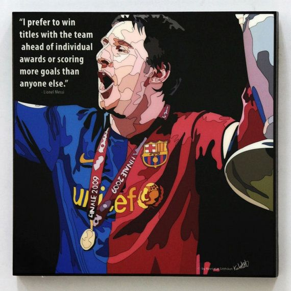 Lionel Messi Fc Barcelona Wall Art Decals By Wallartdecalsquotes
