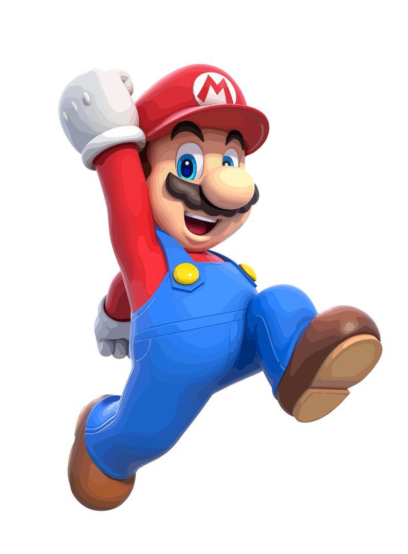Super Mario Vector Clipart Digital Instant Download Svg Etsy Mario Bros Fondos Etsy Articulos