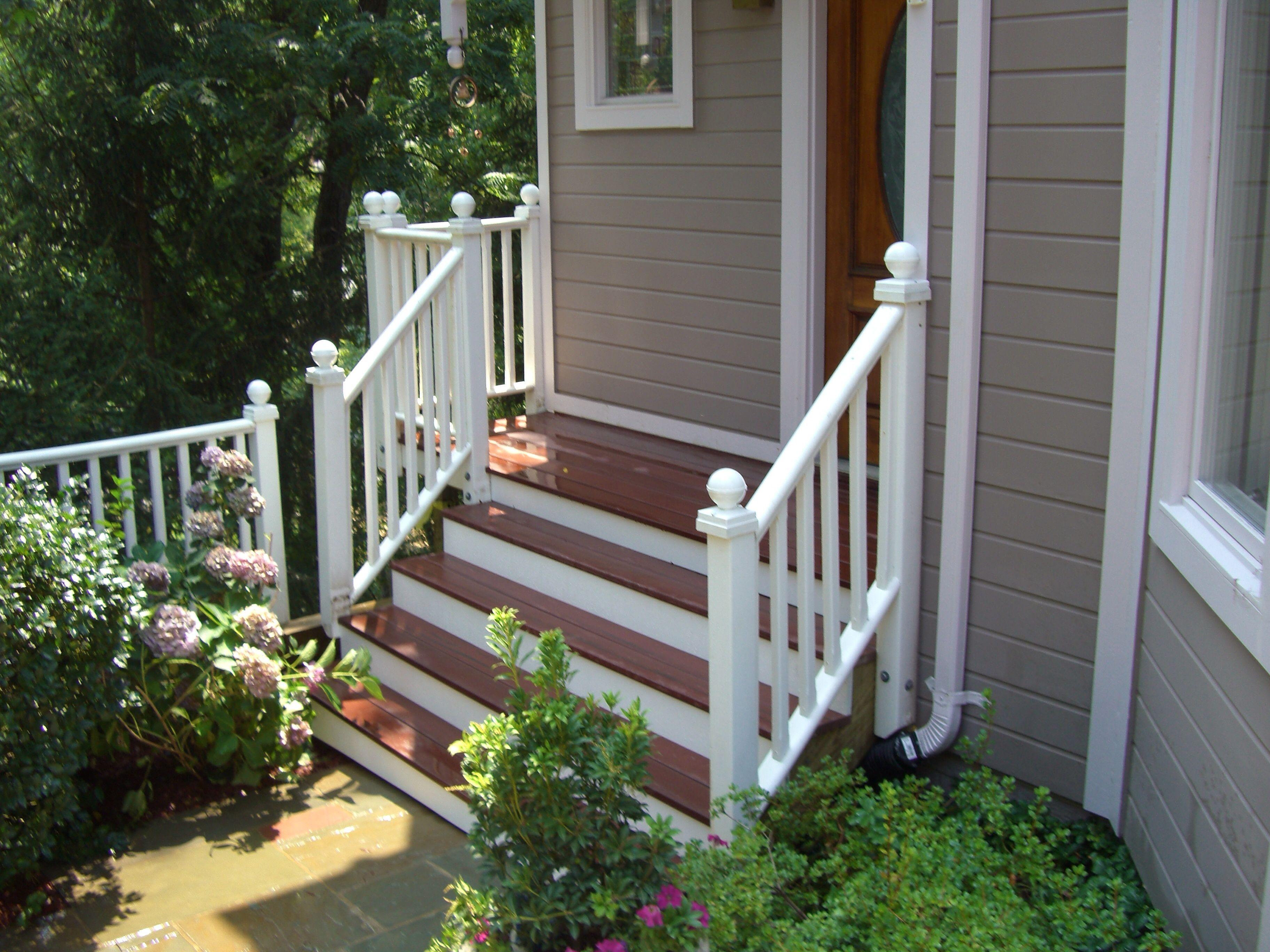Best Composite Porch With Steps Decks Pinterest Porch 400 x 300
