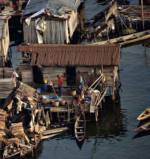 Houses On Stilts, Makoko Shanty Town, Lagos, Nigeria