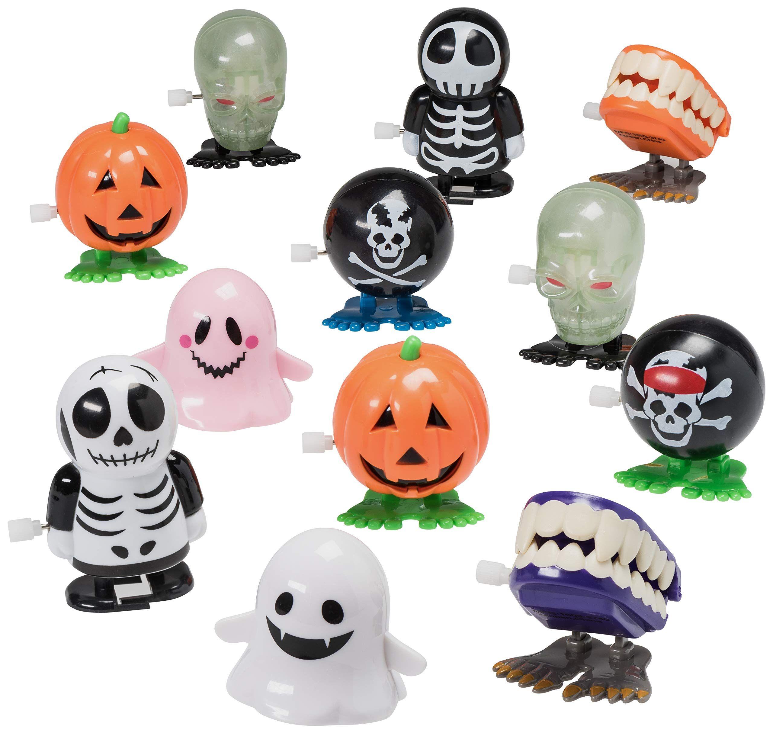 Prextex Halloween Goody Bag Wind Up Toys 12 Pack Halloween