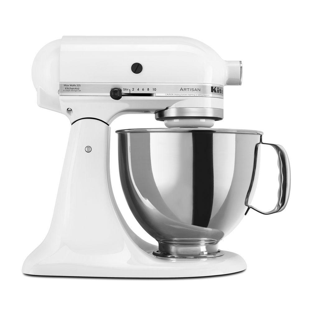 Ziemlich Kitchenaid Küchenmaschine Artisan Weiß 5ksm150psewh ...