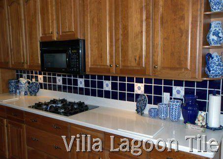 Delft Tile In Kitchen Backsplash