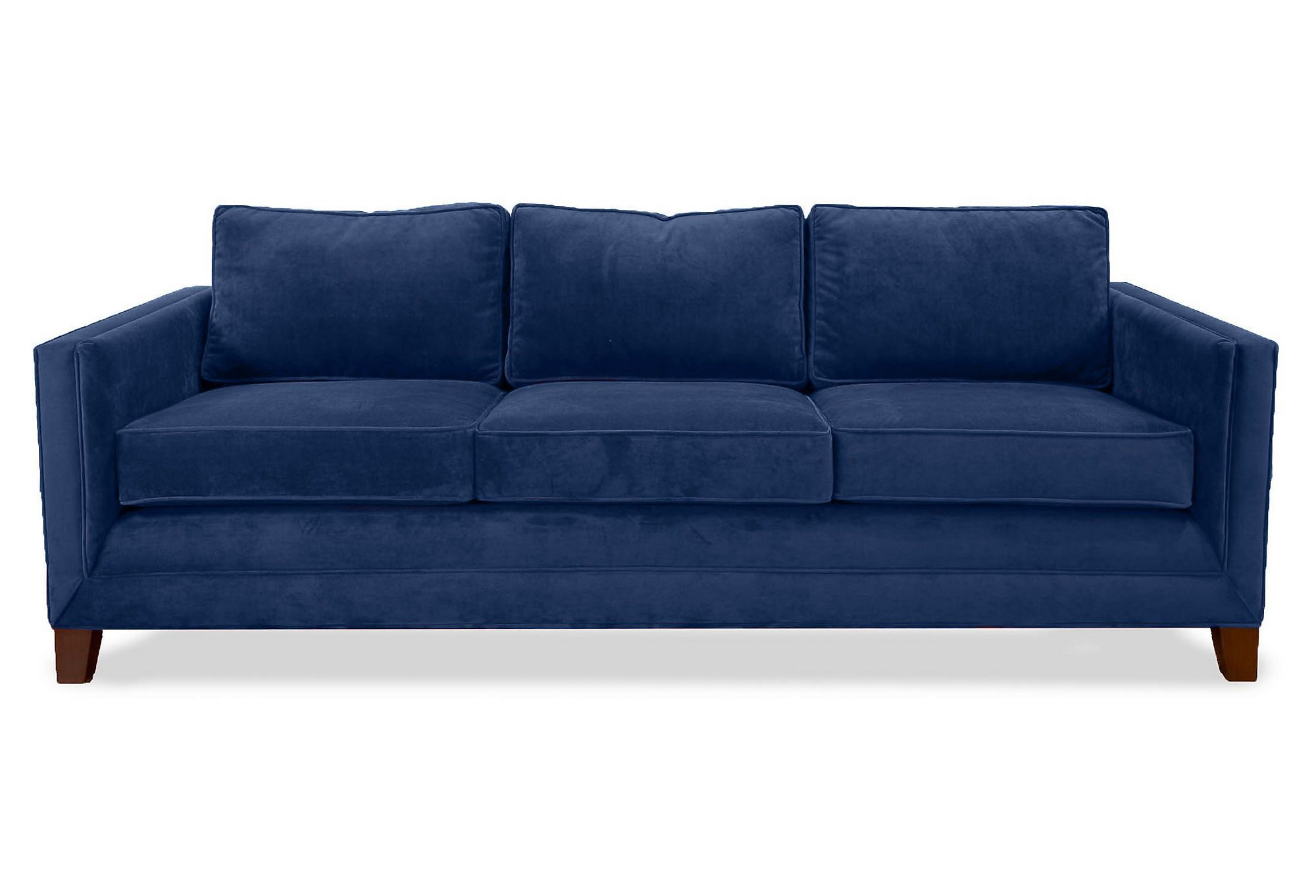 Sofa Sale The loose seat and back cushions are made with durable polyfoam wrapped in a goose down blend
