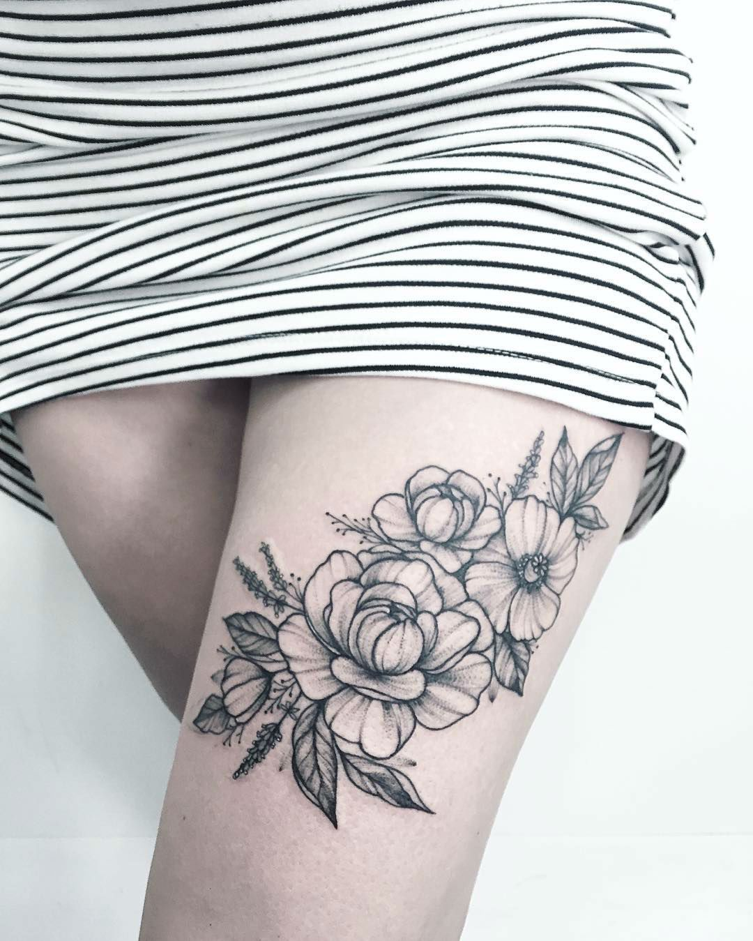 25 beautiful floral tattoos by anna bravo pinterest tattoo 25 beautiful floral tattoos by anna bravo izmirmasajfo