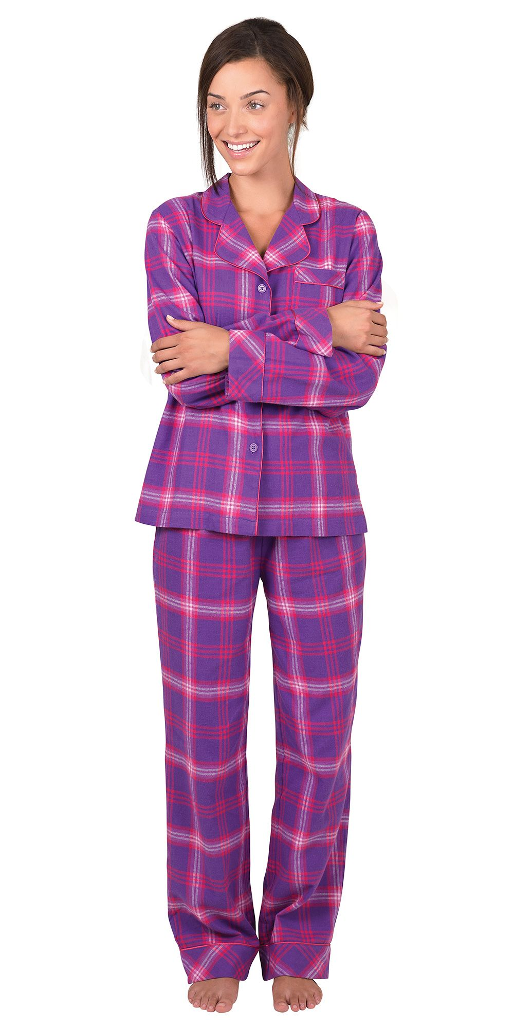 Fun Flannel Pajamas Breeze Clothing