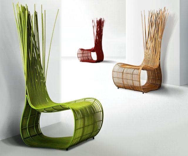 möbel-kollektion rattan garten lounge stuhl bunt kenneth cobonpue ...