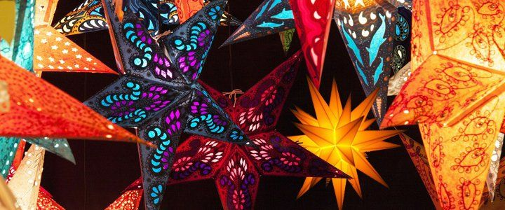 Great Site For Paper Star Lanterns