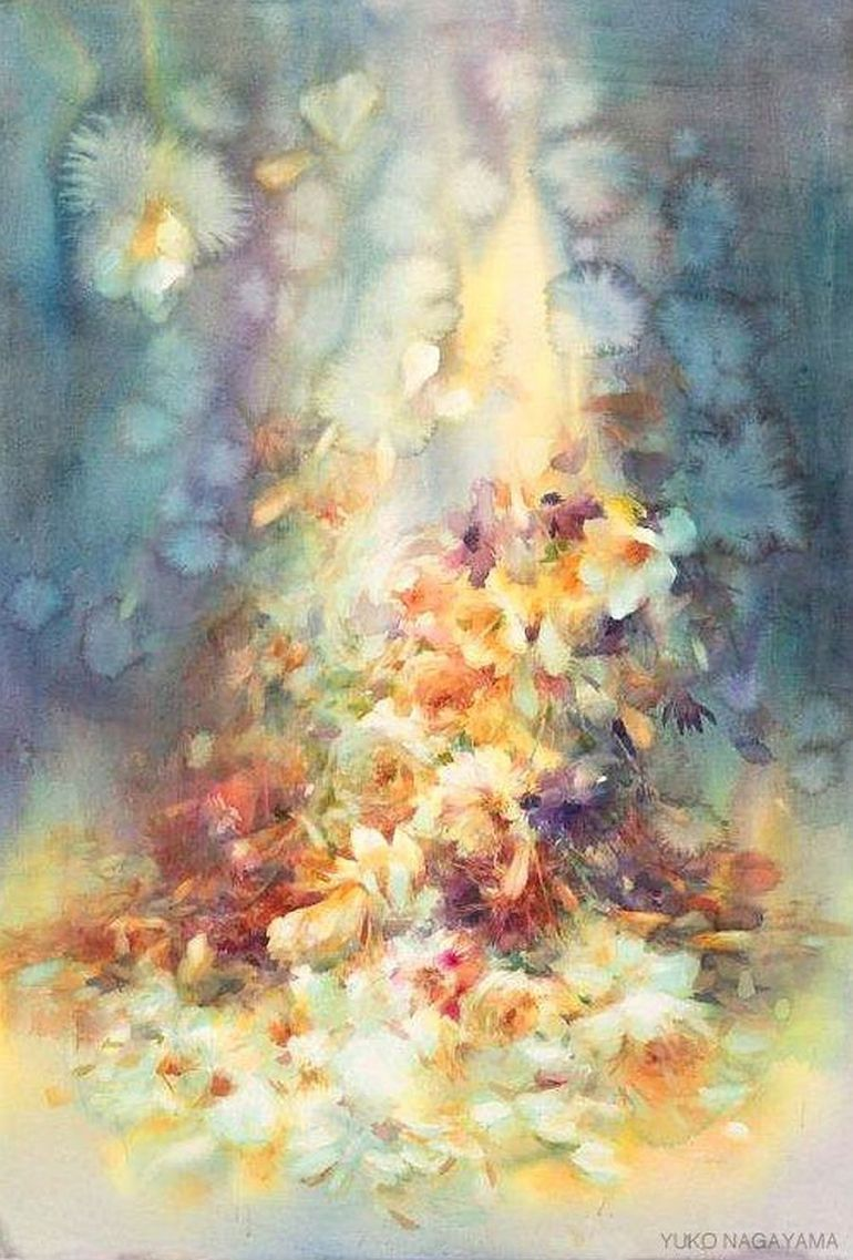 Adelaparvu Com Despre Picturi Acuarela Artist Yuko Nagayama 23