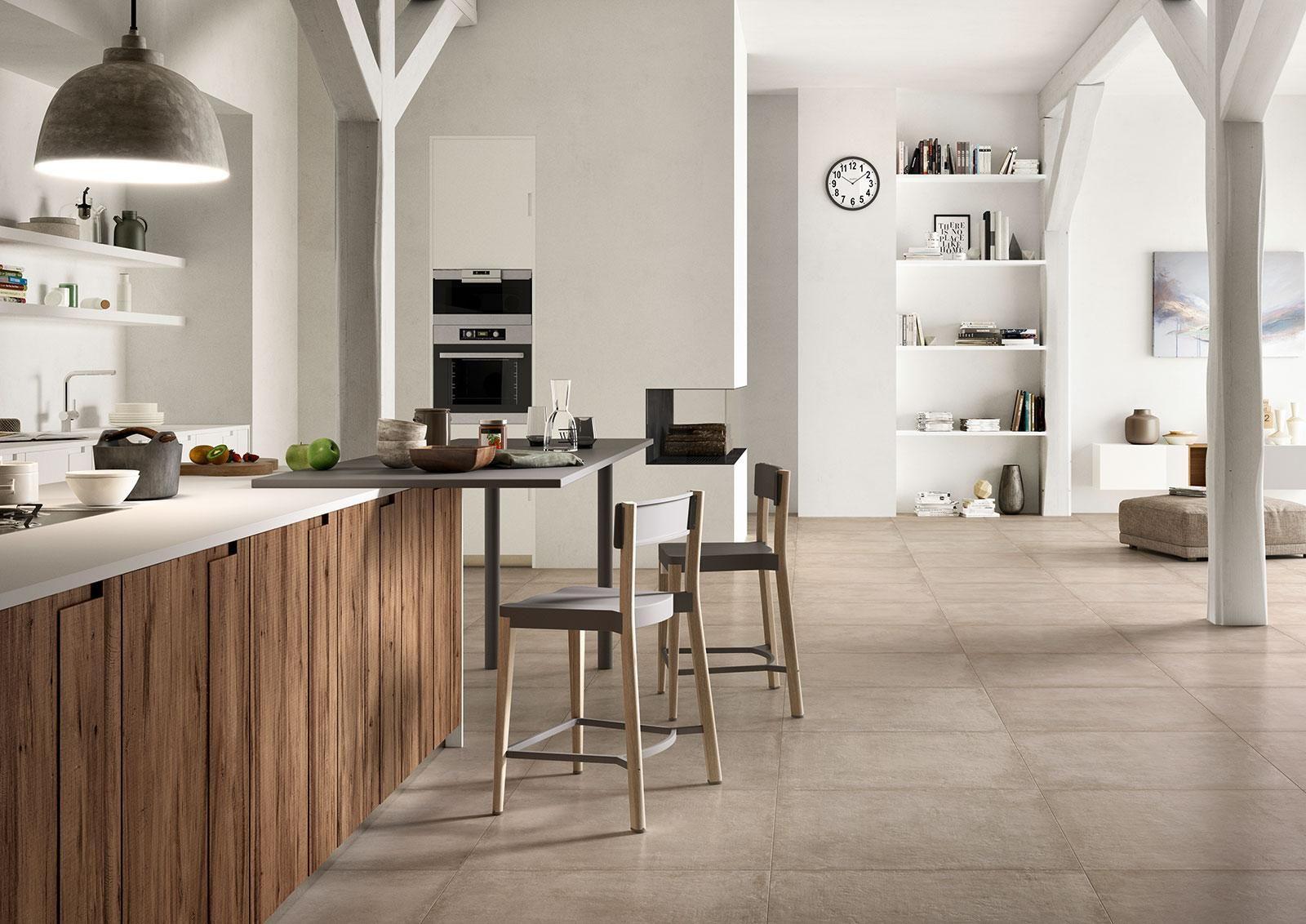 Clays effetto cotto e cemento cucina cocinas pinterest