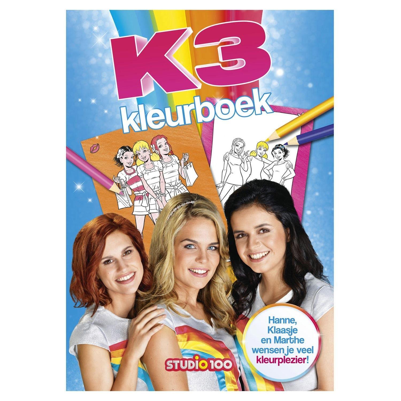 Kleurplaten K3 Kan Het.K3 Kleurboek Nieuw Speelgoed New Toys Kleurboek