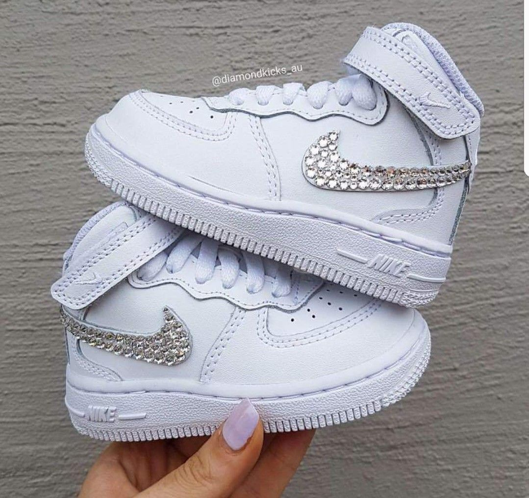 95e4b69be26 Air Force Sneakers · Simple but cute! Cute Baby Shoes, Baby Girl Shoes,  Cute Baby Clothes,