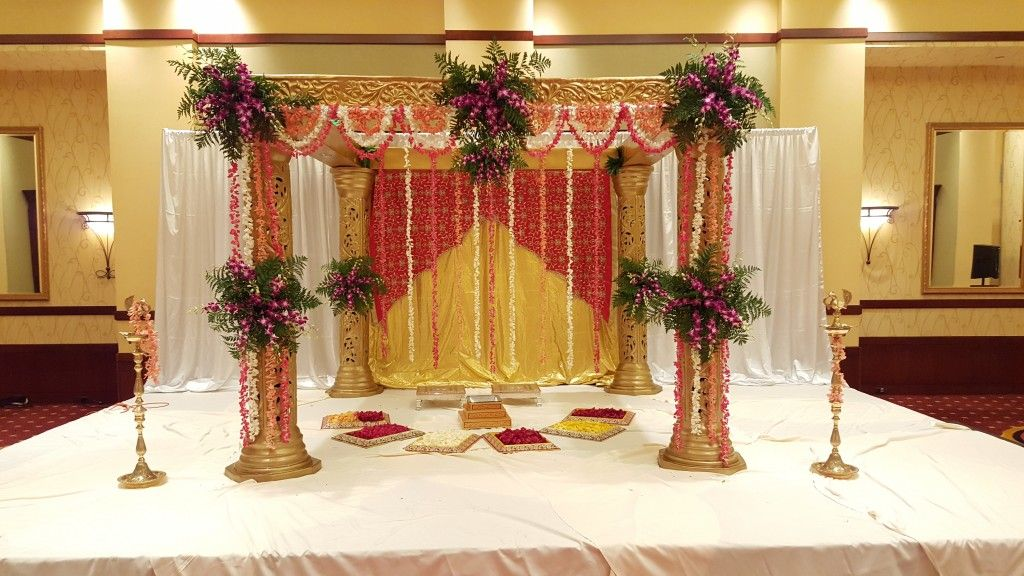 Image Result For Simple Mandap Designs With Flowers Weddings