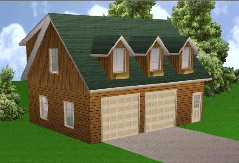 24x32 Garage Apartment Plans Package Blueprints Material List Garage Apartment Plans Apartment Plans Garage Apartments