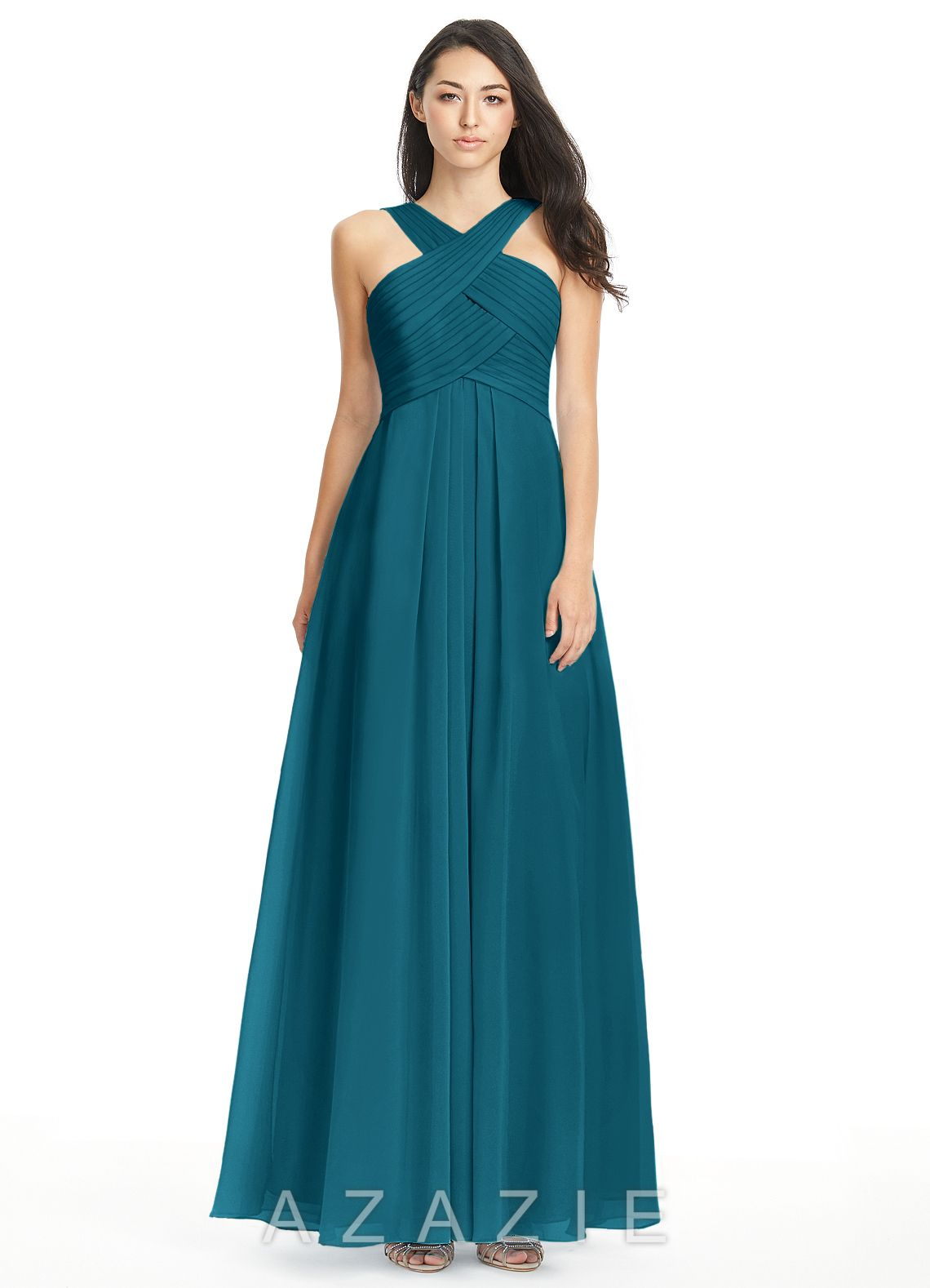 4067f393b4 Shop Azazie Bridesmaid Dress - Kaleigh in Chiffon. Find the perfect  made-to-order bridesmaid dresses for your bridal party in your favorite  color