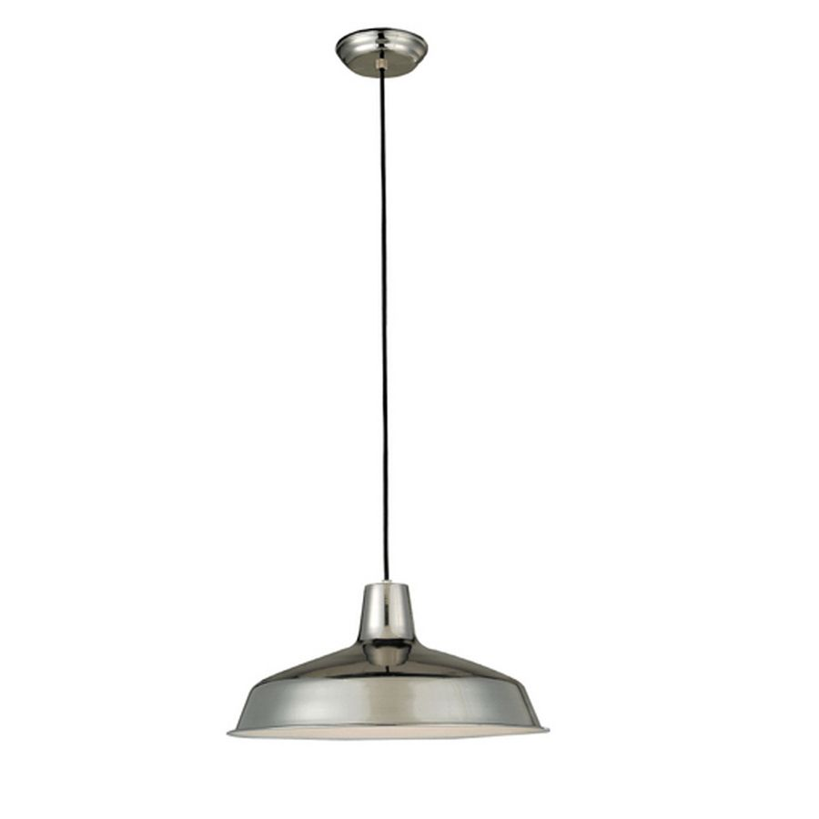 Pendant Lights At Lowes For Kitchen Maybye Shop Project Source 15875In W Chrome Mini