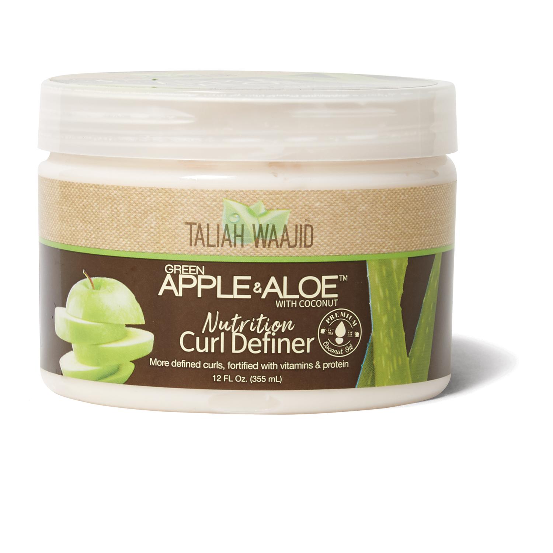 Taliah Waajid Green Apple Aloe Curl Definer By Apple Aloe Styling Product Green Apple Curls Aloe