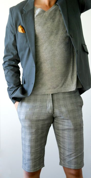 gray on gray on gray: another great summer look