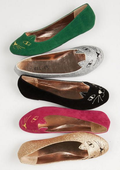 Meow Loafer - Flats - Shoes - dELiA*s size 6.5 in green