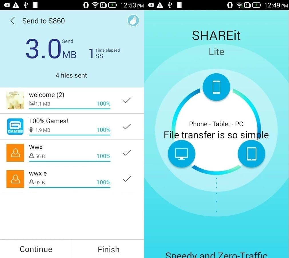 Download Shareit For Sharing Files Between Android Iphone Pc