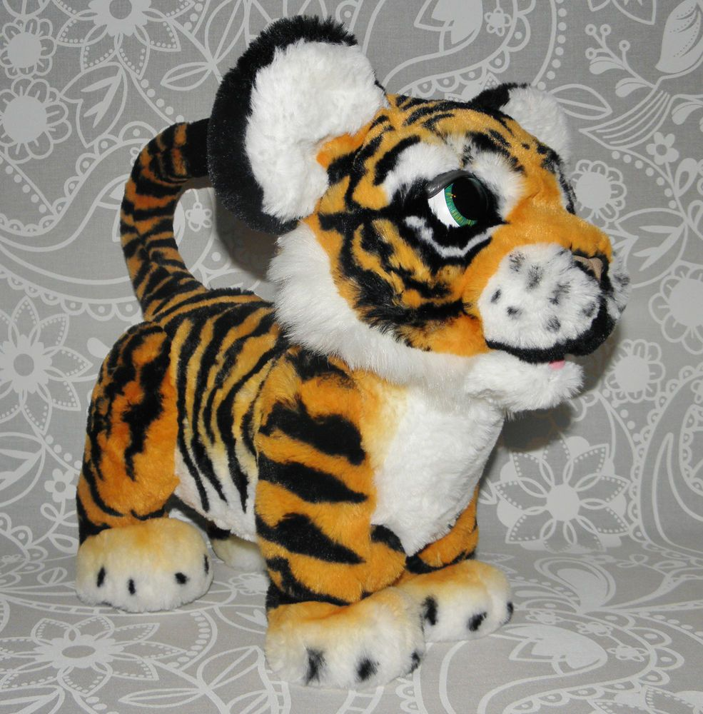 Details About Furreal Roarin Tyler The Playful Tiger Interactive