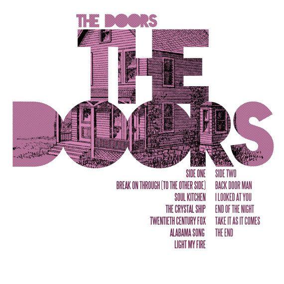 The Doors The Doors Album Cover Art Lp Poster By Sixteen9 10 00 Album Cover Art Album Cover Design Album Covers