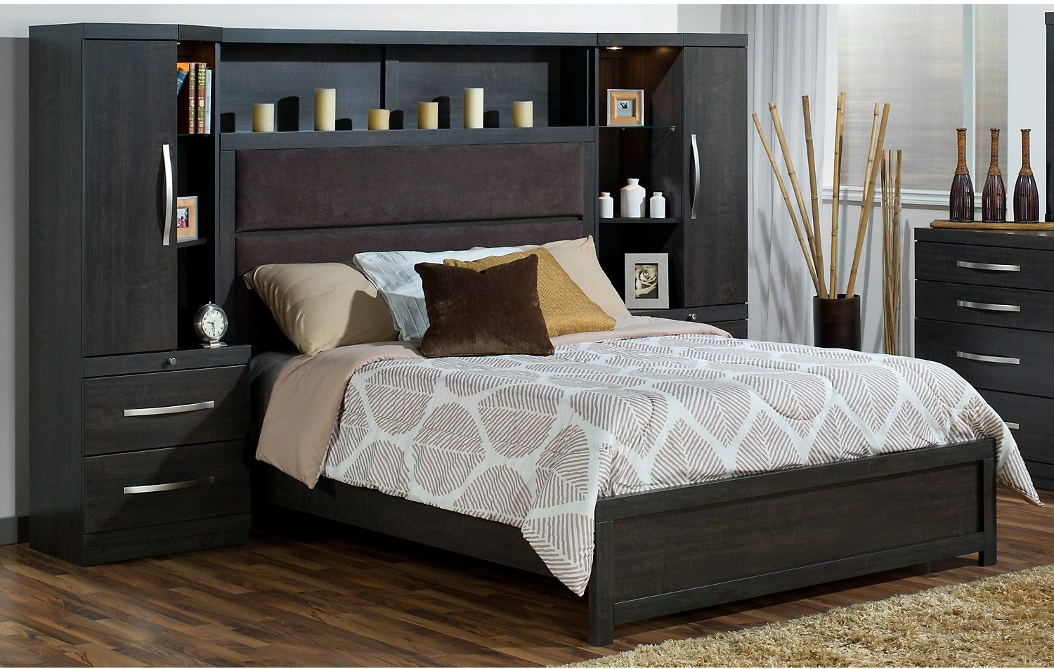 Pier Wall Bedroom Furniture Willowdale King Pier Bed The Brick Furniture And Bricks
