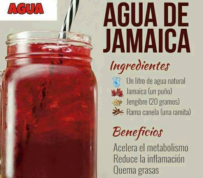 Para que sirve el te de jamaica y canela