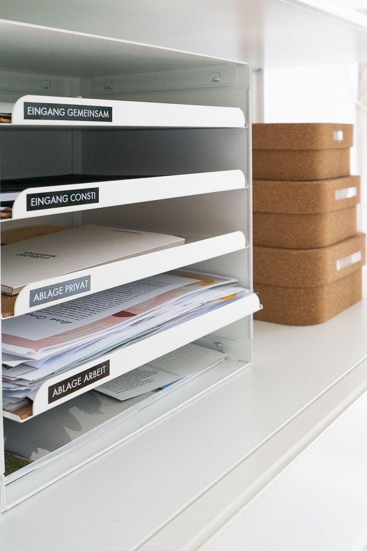 5 Ordnungstipps mit Aufbewahrungsboxen für Büro und Home Office