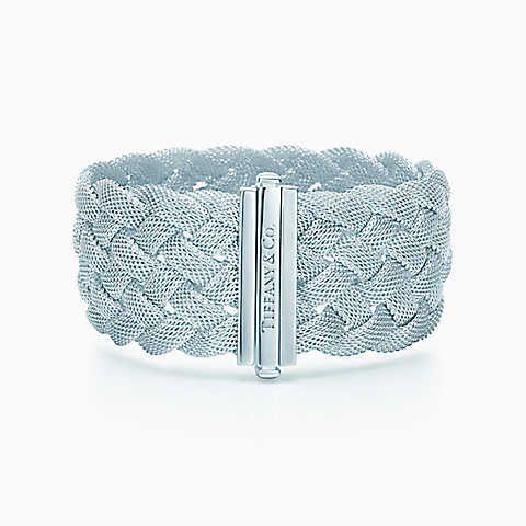 Search Results Tiffany Co Silver Braided Bracelet Braided Bracelets Jewelry