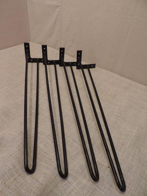 Hair Pin Table Legs 29 Inch Legs Metal Legs Set Of 4 Modern