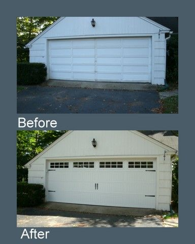 Garage Door Before After Thermacore Collection Garage Doors Residential Doors Garage Door Motor