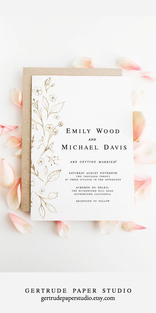 Printable Blush Pink Wedding Menu Digital Download | Etsy