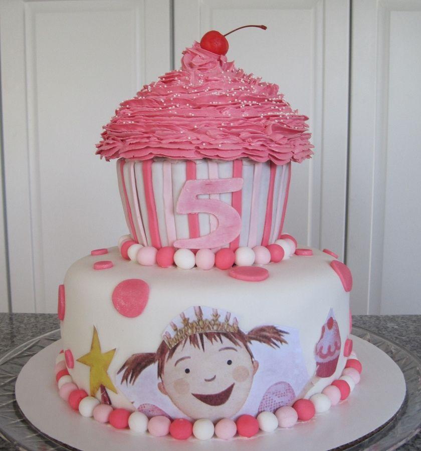 Awe Inspiring Pinkalicious Cake With Images Girly Birthday Party Birthday Birthday Cards Printable Benkemecafe Filternl