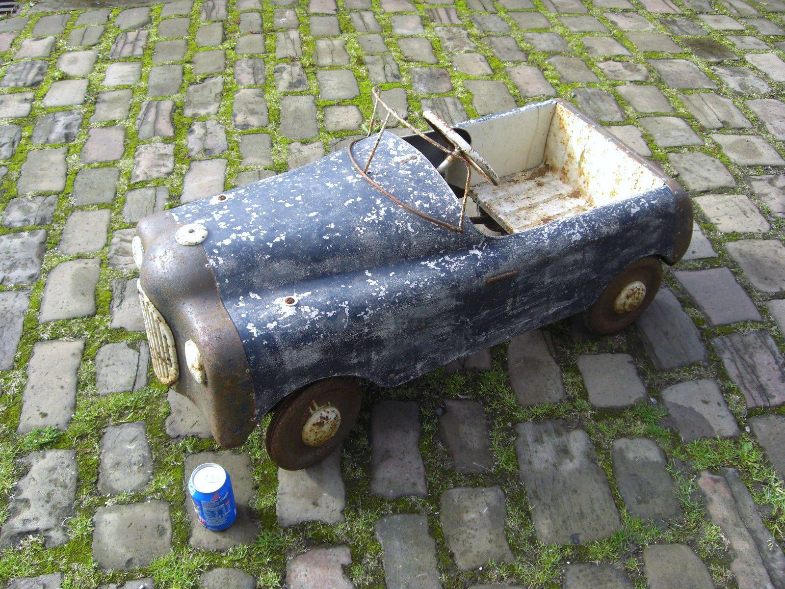 Vintage Childs Pedal Car - http://www.ebay.co.uk/itm/121425720397 ...