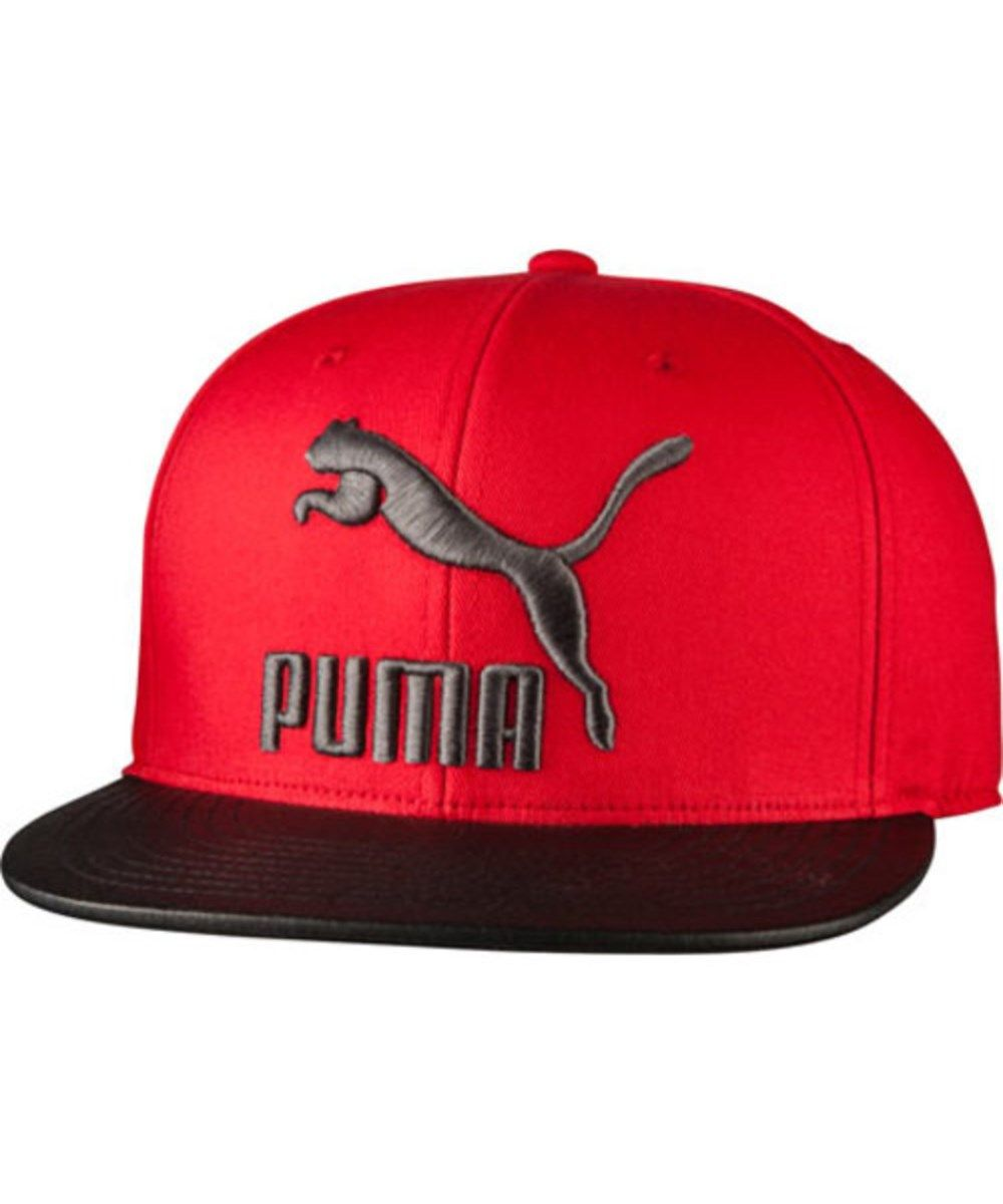 cceec649526 PUMA Puma Men s Suede Snapback.  puma   Black Baseball Cap