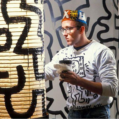 Keith Haring   Photo by Tseng Kwong Chi