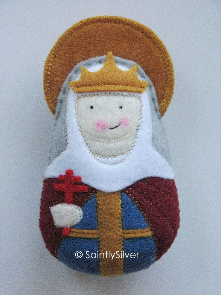 Saint Caroline Felt Saint