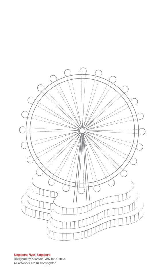 Title singapore flyer singapore activity colouring for Flyers coloring pages