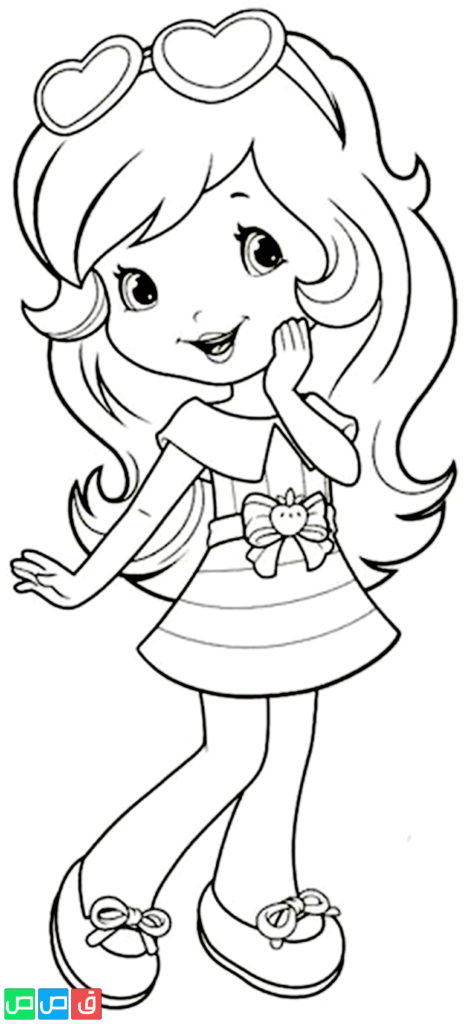 رسومات للتلوين للبنات أكثر من مائة صورة جاهزة للطباعة قصص اطفال Art Drawings Sketches Simple Disney Art Drawings Art Drawings Simple