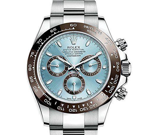 Rolex Cosmograph Daytona Ice Blue Dial Platinum Mens Watch 116506IBLSO