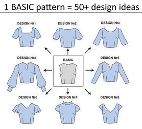 Photo of 15 basic PDF sewing patterns for women | PDF patterns for woman | dress pattern pdf | sewing pattern