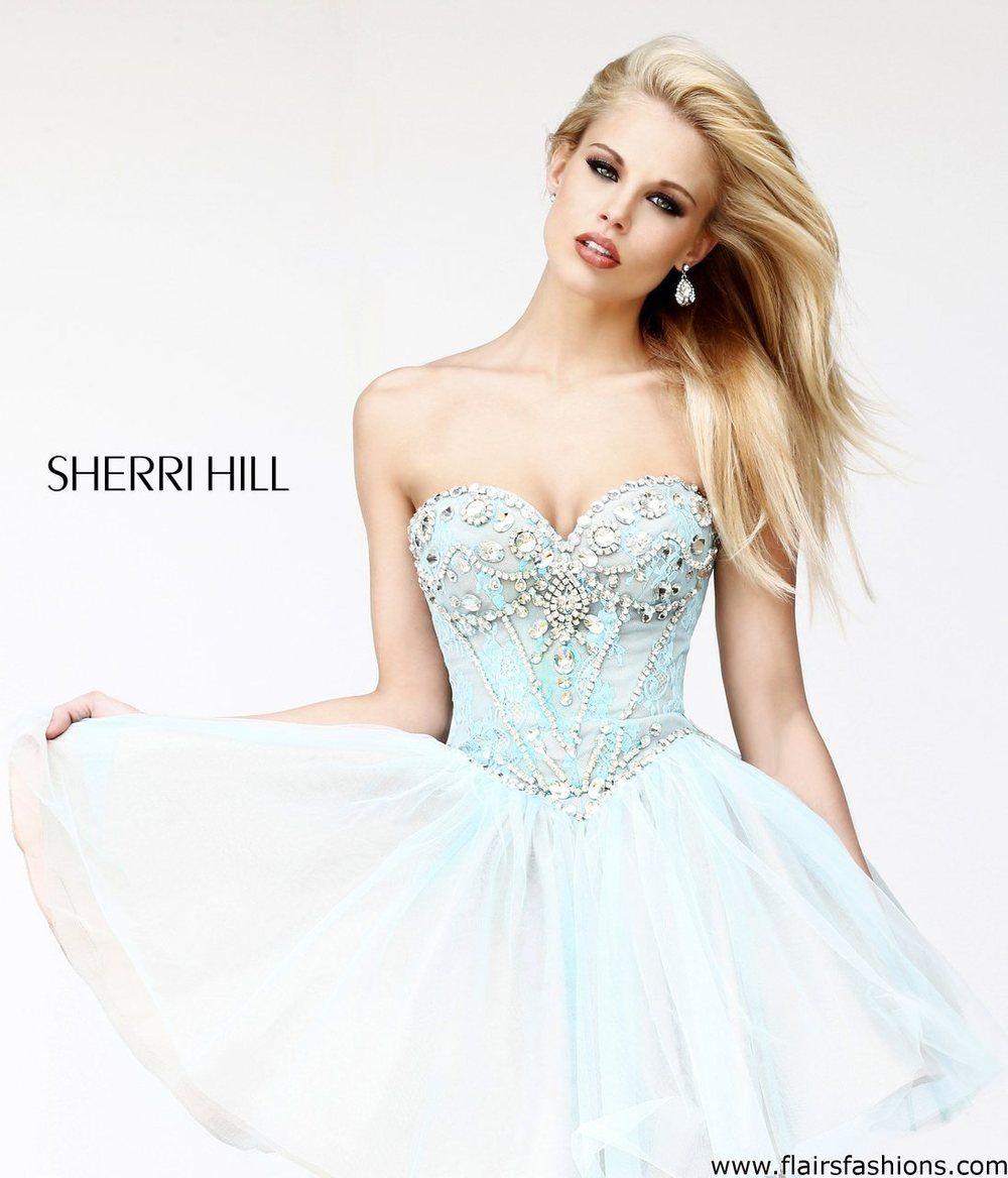 Prom dress flair fashions sherri hill
