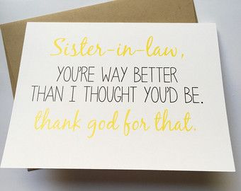 Birthday Cards For Sister From Brother ~ Brother card brother birthday card funny card card for
