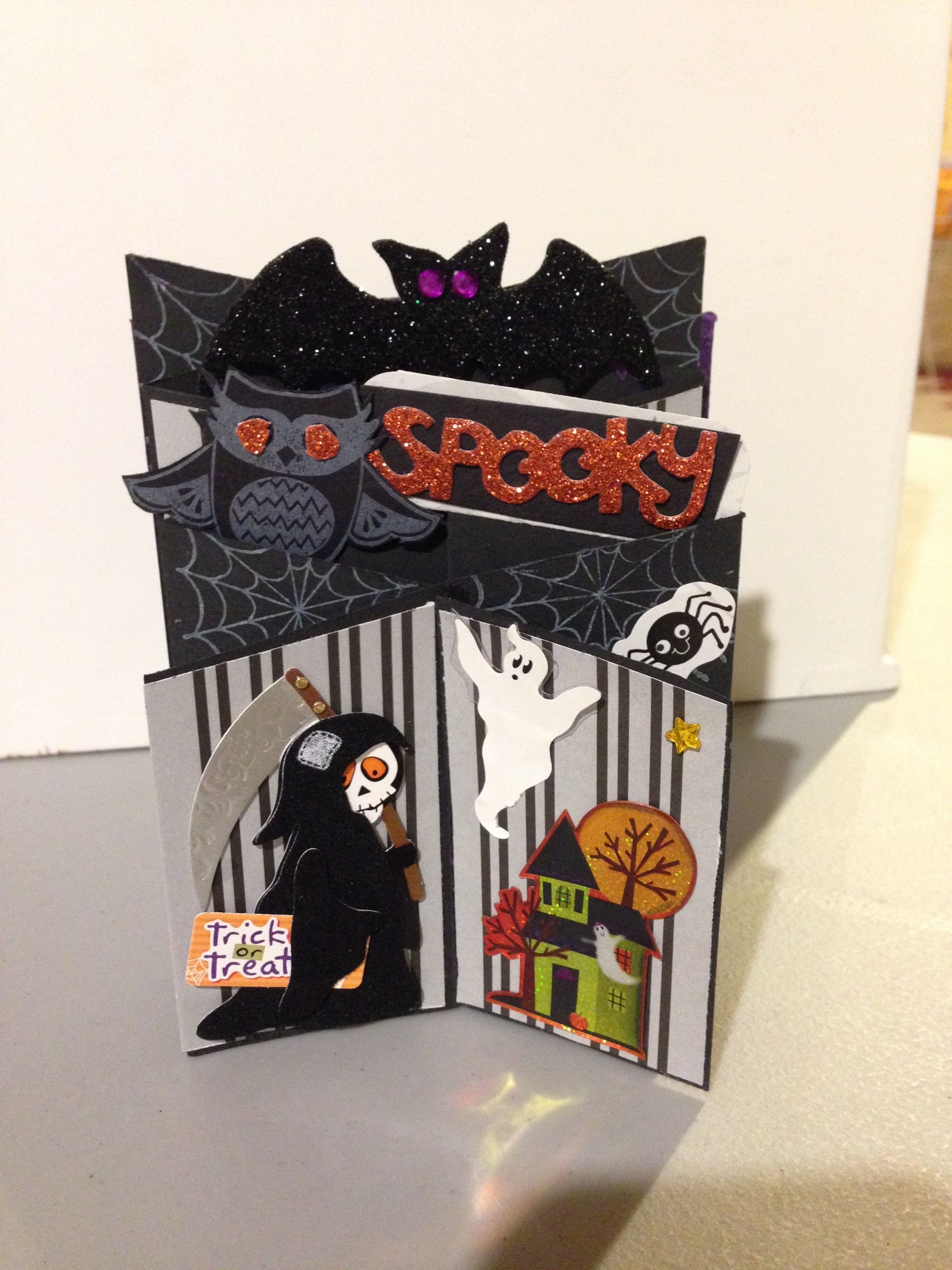 Pin By Christine Mohatt On Halloween Pinterest Greeting Cards