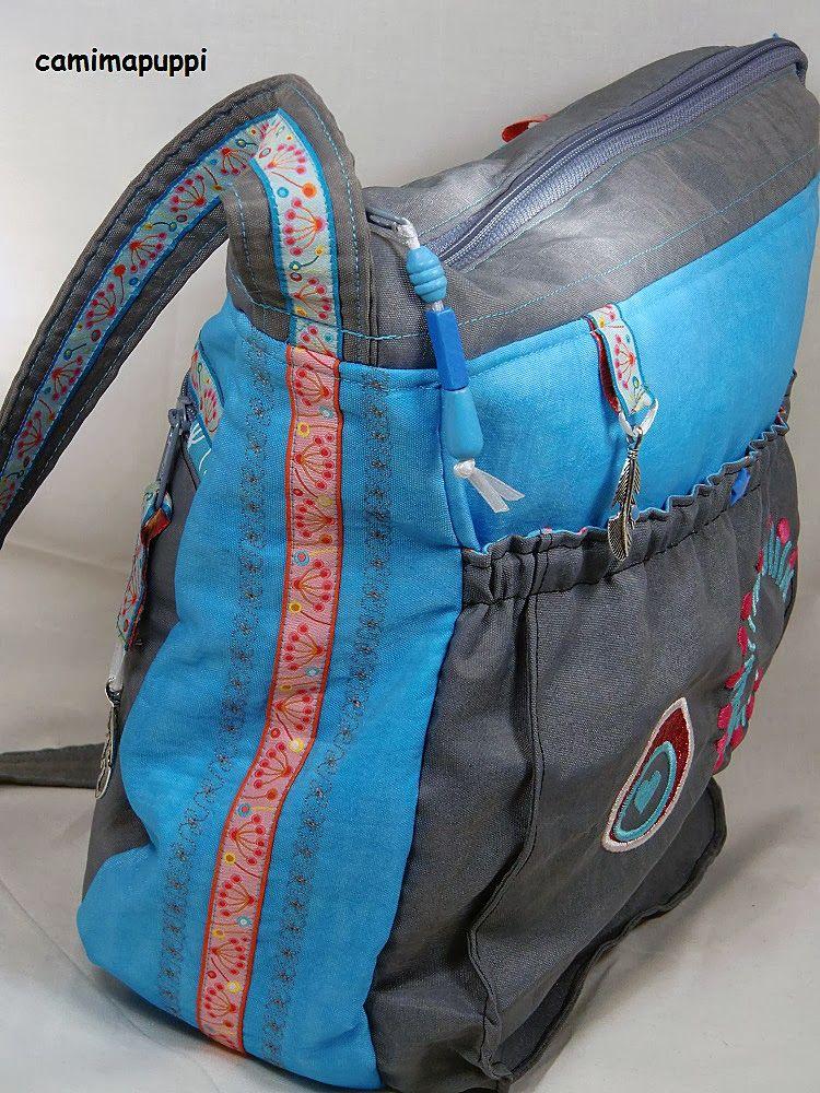 Skippy by Camimapuppi, #sewing #farbenmix #handmade #bag #nähen ...