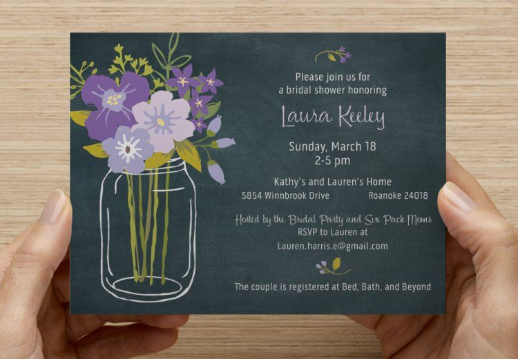 review your design  bridal shower business card stand